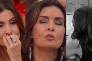 Fátima Bernardes já passou momentos complicados na Globo (Foto montagem: TV Foco)