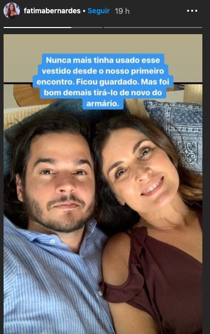 Fátima Bernardes deu detalhes de sua vida pessoal (Foto: reprodução/Instagram)