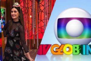 Fátima Bernardes estreou em 25 de Junho de 2012 no lugar da TV Globinho (Montagem: TV Foco)