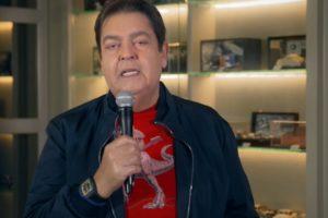 Faustão durante seu programa na Globo - Foto: Reprodução
