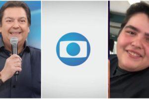 João Guilherme, filho de Faustão, curtiu post de político crítico à Globo (Reprodução)