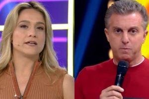 Fernanda Gentil teve conversa com Luciano Huck na Globo após assumir relação gay com mulher (Foto: Reprodução/Globo)