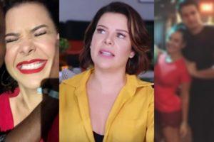 Fernanda Souza recebeu mensagens de outro famoso (Foto montagem: TV Foco)