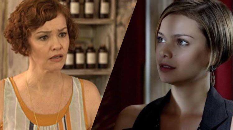 Fina Estampa, Vanessa vai colocar Esther contra parede e descobrir que a estilista ainda ama Paulo (Montagem: TV Foco)