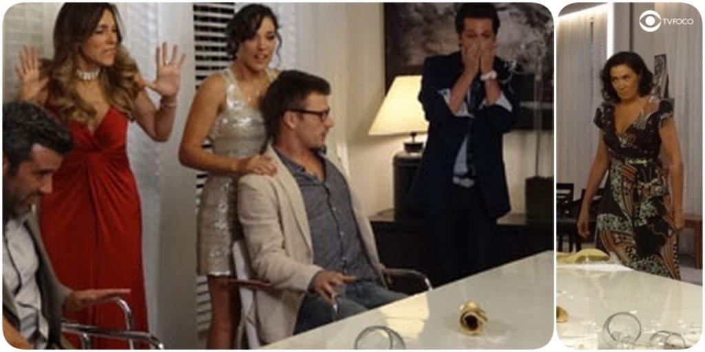 Convidados de Tereza Cristina em Fina Estampa ficam enlouquecidos com atitude de Griselda