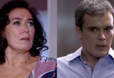 Griselda (Lilia Cabral) sofrerá rejeição de René (Dalton Vigh) em Fina Estampa (Foto: Reprodução/Globo)