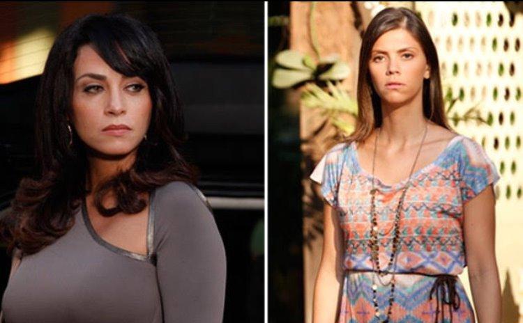 Em Fina Estampa, Luana fará uma previsão tenebrosa para Joana, irmã gêmea de Marcela (Montagem: Globo)