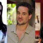 Em Fina Estampa, Márcia diz poucas e boas para Paulo na frente de Vanessa (Montagem: TV Foco)