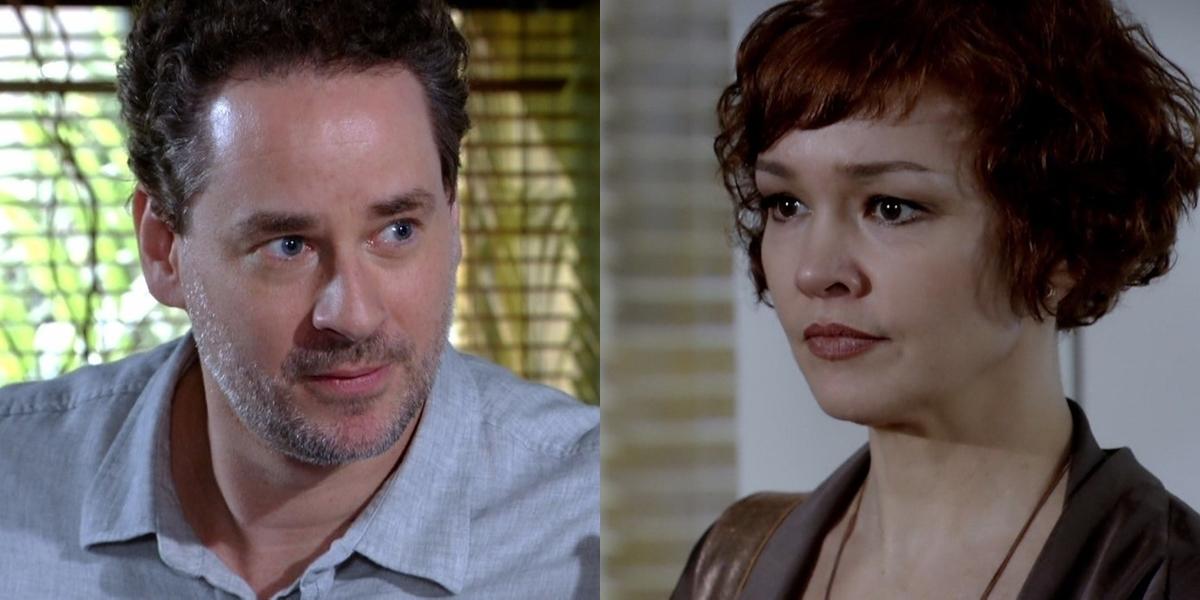 Paulo (Dan Stulbach) se humilhará para Esther (Julia Lemmertz) em Fina Estampa (Foto: Reprodução/Globo)