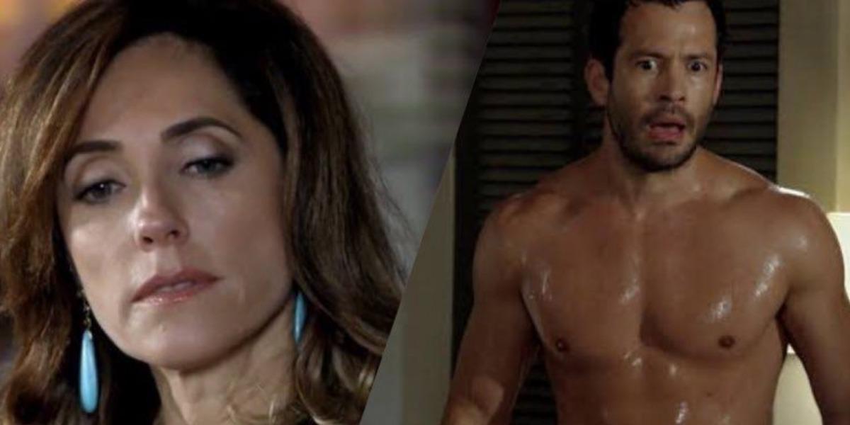 Fina Estampa, Tereza Cristina ordena a morte de Quinzé, e filho de Griselda é afogado (Montagem: TV Foco)