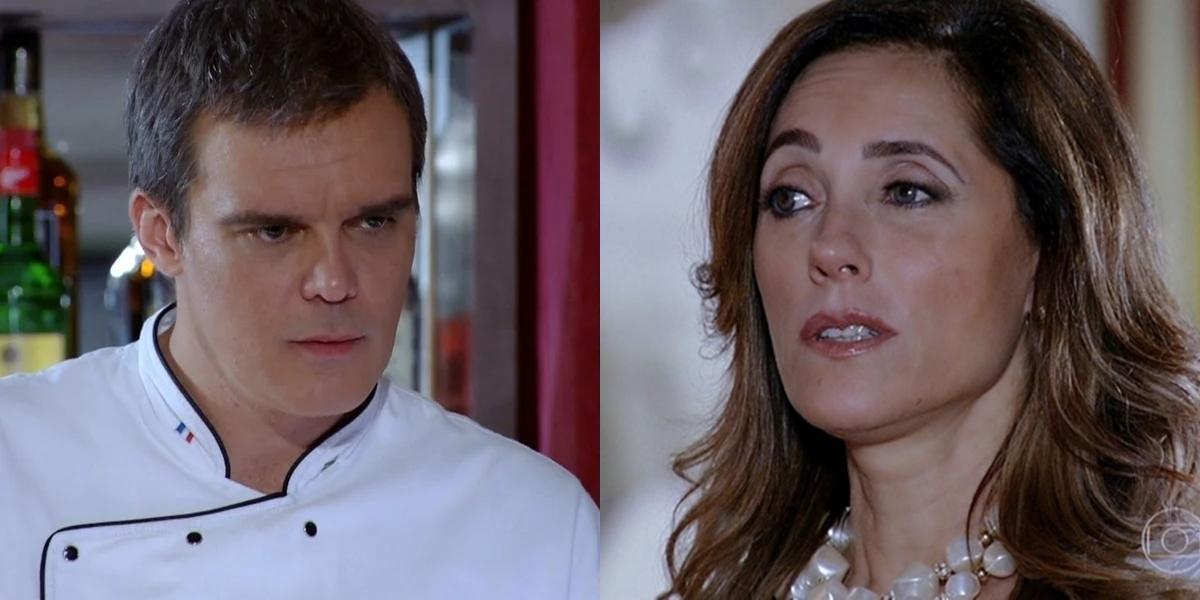 René (Dalton Vigh) se vinga de Tereza Cristina (Christiane Torloni) com sabotagem em Fina Estampa (Foto: Reprodução/Globo)