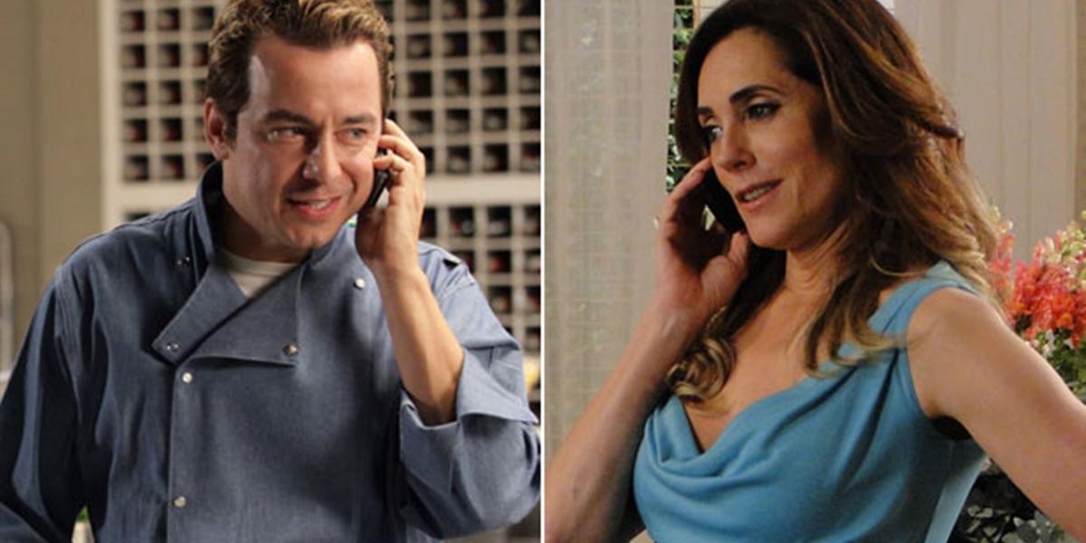 Fred (Carlos Vieira) vira aliado de Tereza Cristina (Christiane Torloni) em Fina Estampa (Foto: Divulgação/Globo)