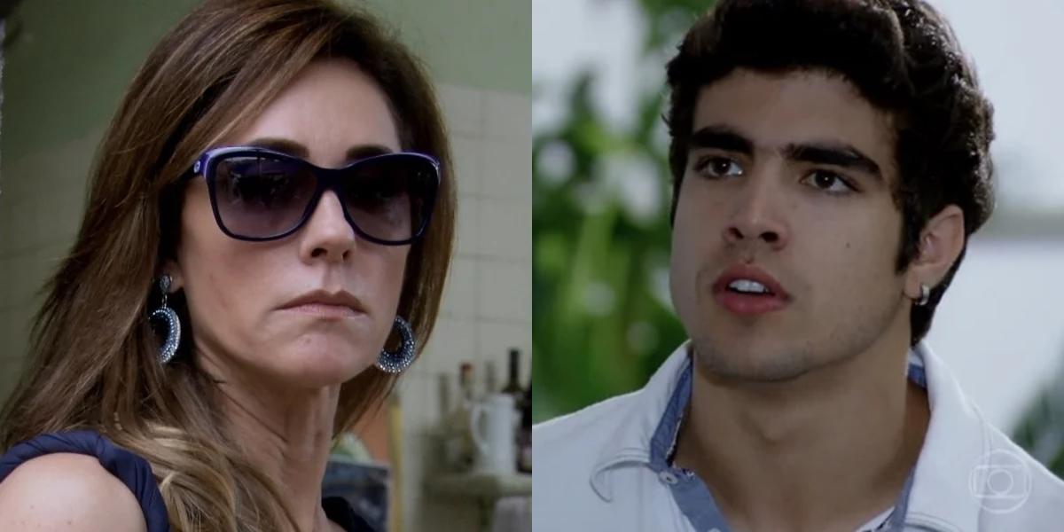 Tereza Cristina (Christiane Torloni) manda sequestrar e matar Antenor (Caio Castro) em Fina Estampa (Foto: Reprodução/Globo)