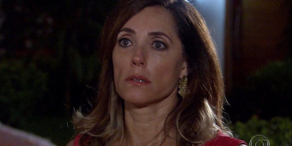 Tereza Cristina (Christiane Torloni) ficará na mira da polícia após provocar outra morte em Fina Estampa (Foto: Reprodução/Globo)