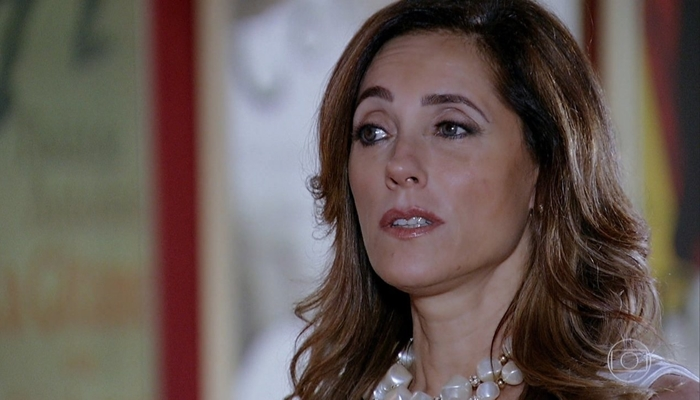 Tereza Cristina (Christiane Torloni) descobrirá segredo de René (Dalton Vigh) em Fina Estampa (Foto: Reprodução/Globo)
