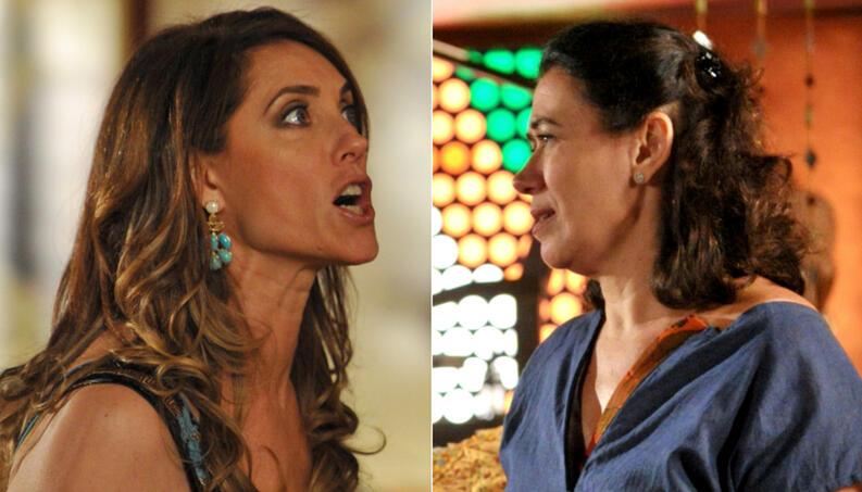Tereza Cristina destrói Griselda em Fina Estampa - Foto: Montagem