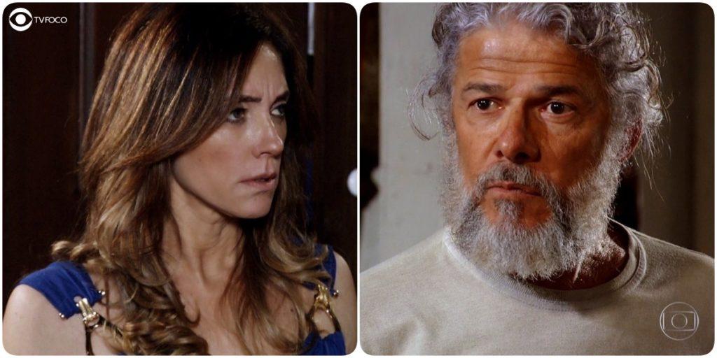 Fina Estampa vai mostrar que a relação de Pereirinha é vantajosa com Tereza Cristina