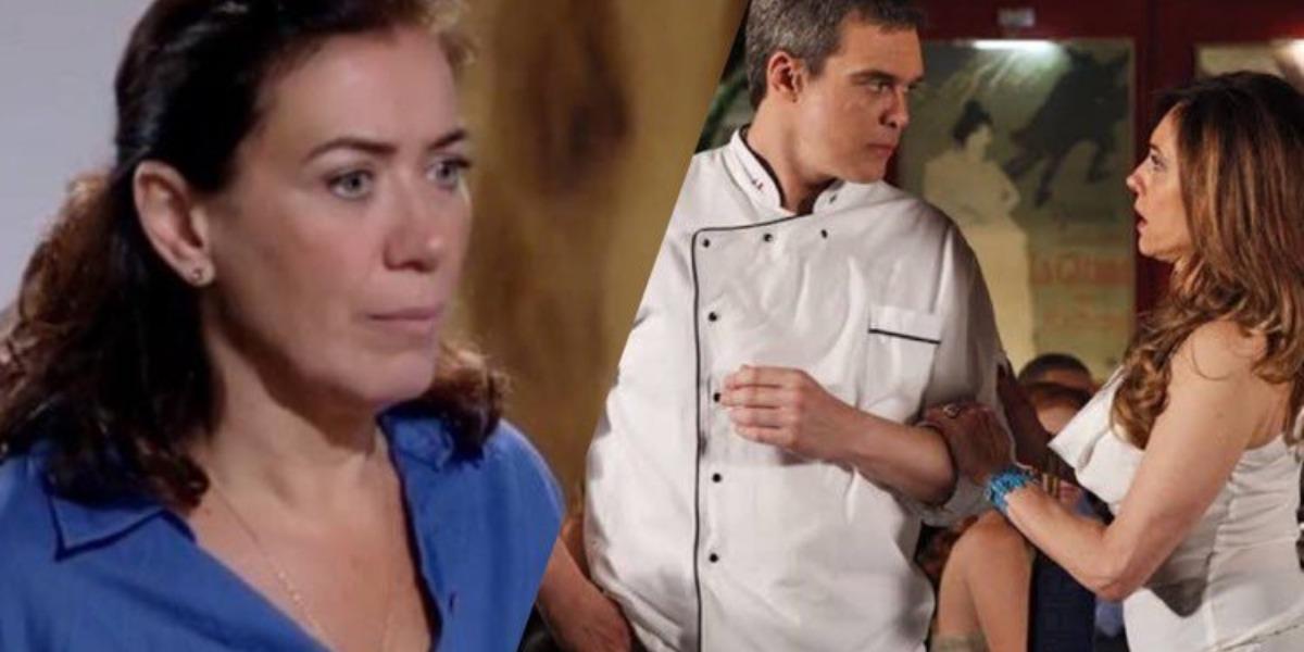 Fina Estampa, René deixa Griselda de vez e vai morar com Tereza Cristina novamente (Montagem: TV Foco)