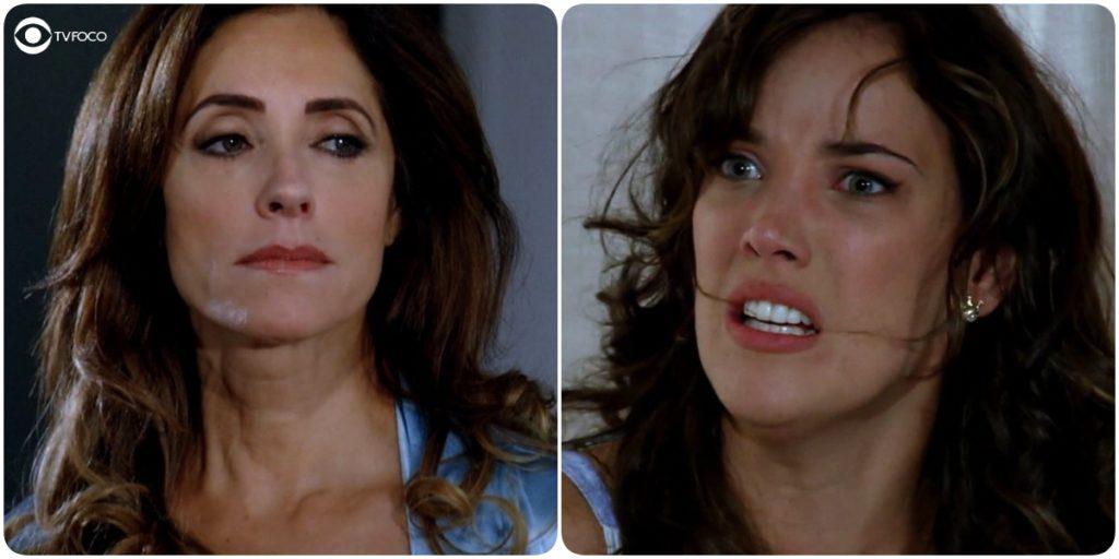 Patrícia corre sério risco ao ficar perto da própria mãe na trama de Fina Estampa
