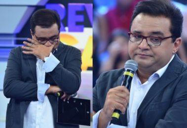 O apresentador Geraldo Luís vive momento pessoal tenso - Foto: Reprodução/Montagem