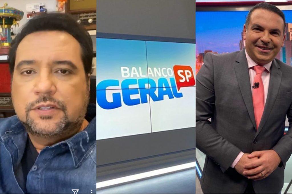 Geraldo Luis perde Balanço Geral para Reinaldo Gottino