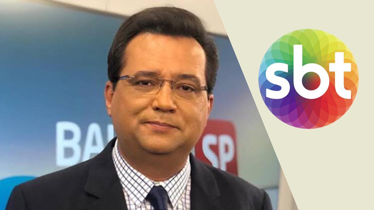 Geraldo Luís pode acabar assinando contrato com o SBT (Imagem: Montagem)