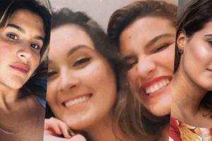 Giulia Costa e Bia Bonemer são muito amigas (Foto montagem: TV Foco)
