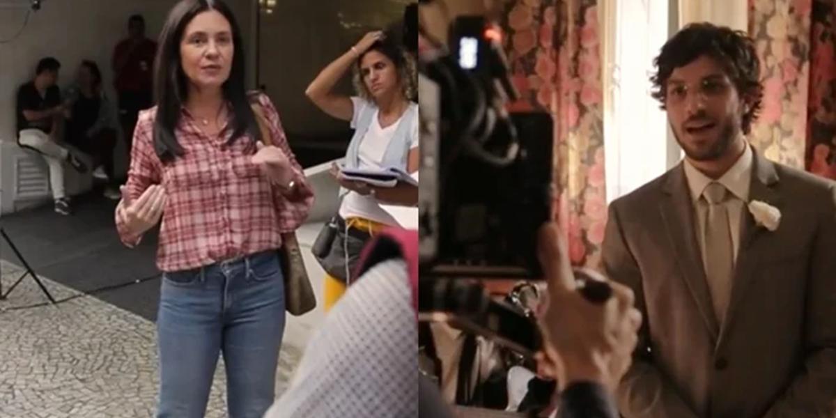 Bastidores da novela Amor de Mãe; Globo cortará mordomias do elenco na volta das gravações (Foto: Reprodução/Globo)