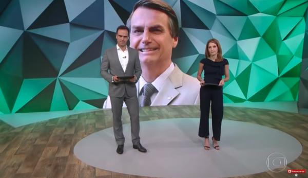 Globo fez crítica a Bolsonaro por código no Fantástico - Foto: Reprodução