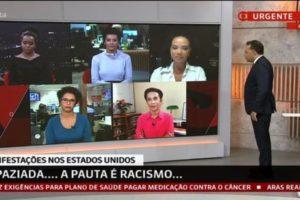 GloboNews escala jornalistas negros após críticas em cobertura (Foto: Reprodução)