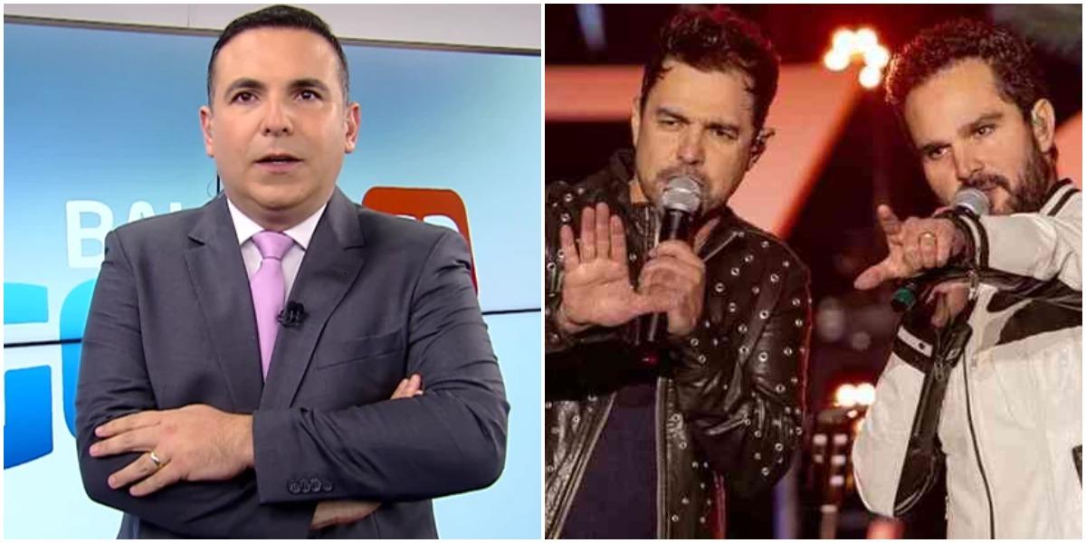 Zezé Di Camargo e Luciano precisaram acalma Reinaldo Gottino na rádio Globo