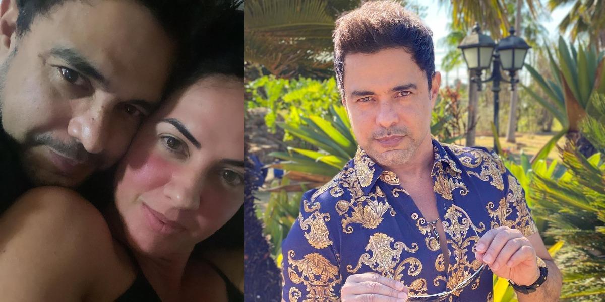 Graciele Lacerda e Zezé terão bebê em breve (Foto: Reprodução/Instagram)