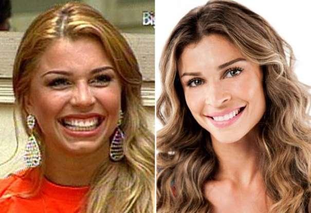 Famosos antes e depois da fama: Grazi Massafera (Foto: Reprodução)