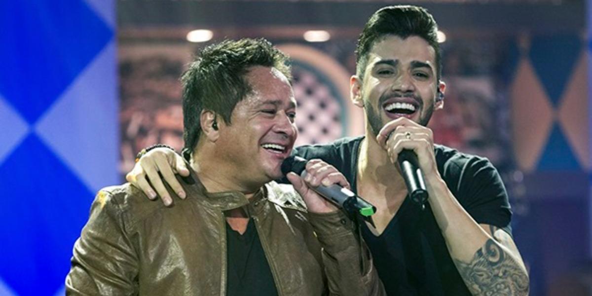 Gusttavo Lima e Leonardo (Foto: Divulgação)