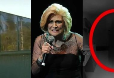 Hebe foi envolvida em relatos sobrenaturais (Foto montagem: TV Foco)