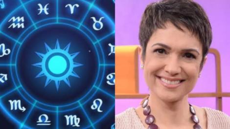 A sexta-feira (05) é marcada pelo aniversário da apresentadora Sandra Annenberg. A jornalista é do signo de Gêmeos (Foto: Reprodução)