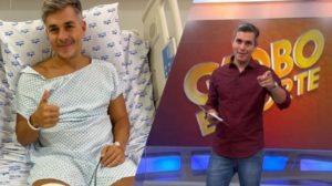 Ivan Moré relata cirurgia após sofrer um tombo e acalma seguidores: está tudo bem (Montagem: TV Foco)