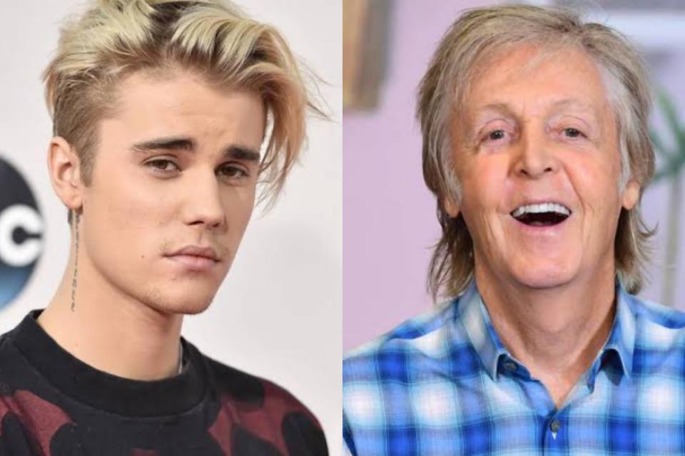 Justin Bieber confunde show de Paul McCartney com o seu e vira piada na web (Foto: Reprodução)