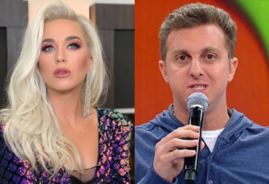 Com oito meses de gestação, Katy Perry vai participar do Caldeirão do Huck (Foto: Reprodução)