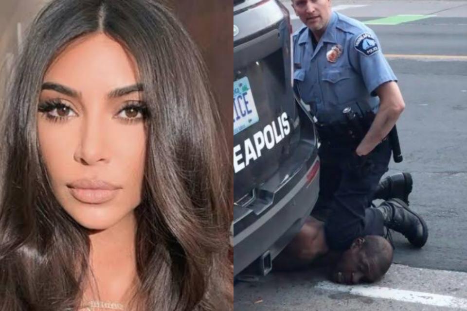 Kim Kardashian escreve carta em luta contra o racismo após morte de George Floyd (Foto: Reprodução)