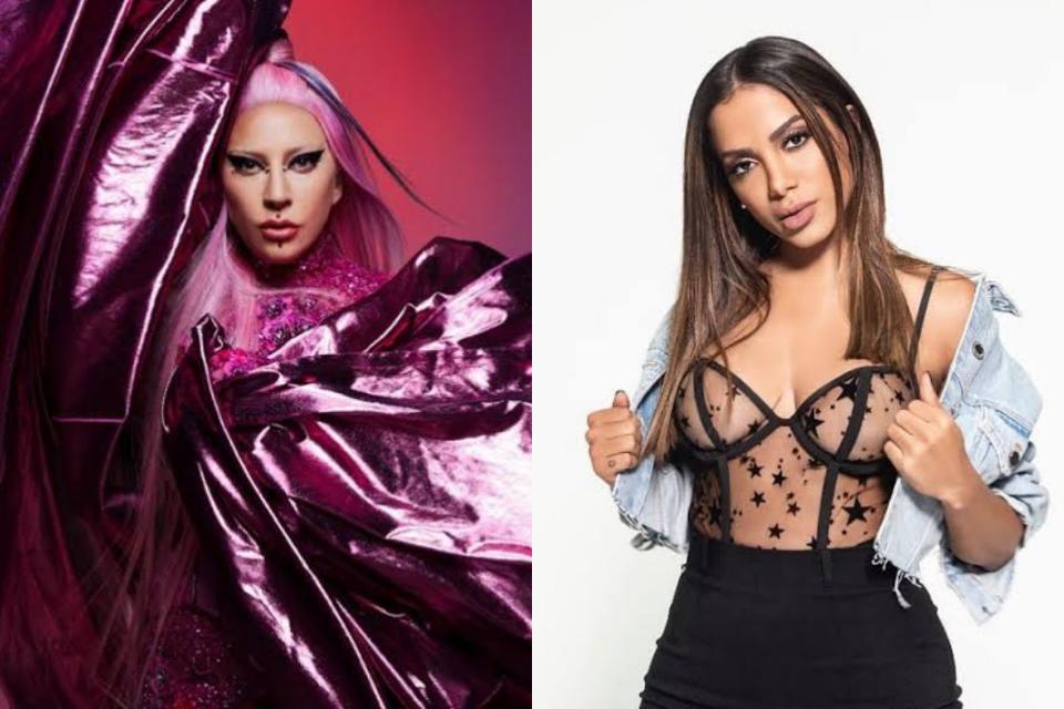 Lady Gaga quebra recordes e desbanca Anitta (Foto: Reprodução)
