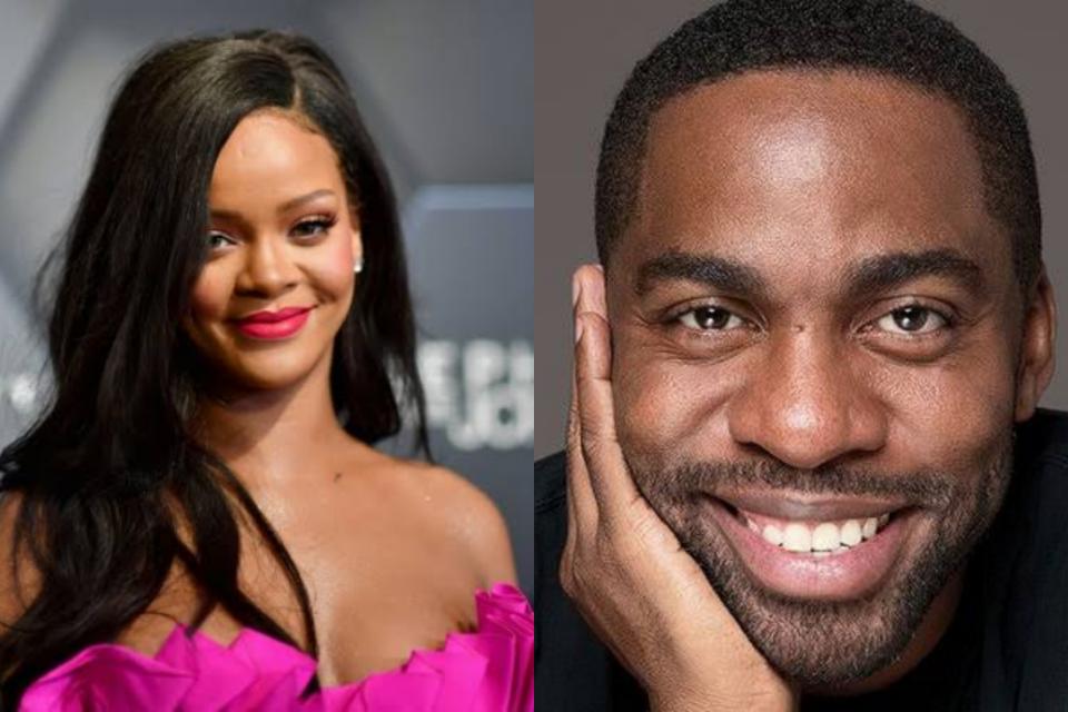 Brincalhão, Lázaro Ramos se compara a Rihanna em versão feminina (Foto: Reprodução)