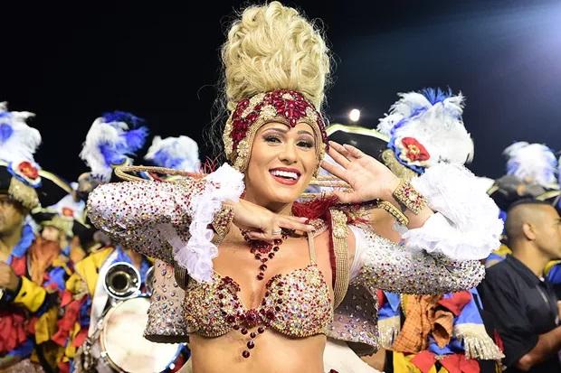 a loira no carnaval (Foto: reprodução)