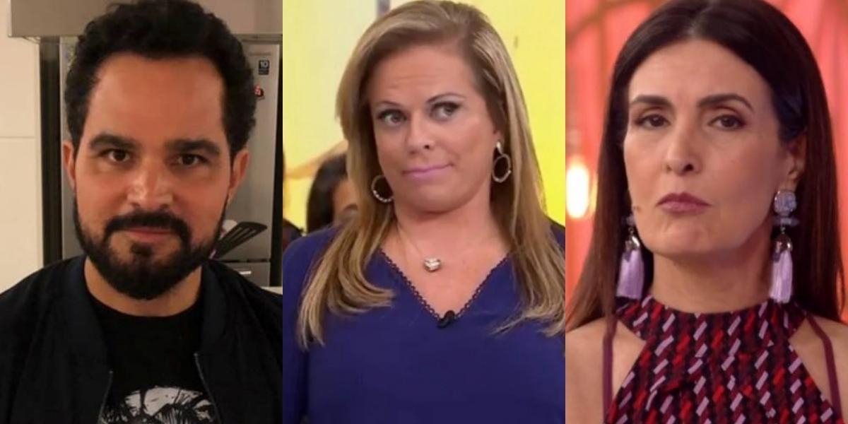 Luciano Camargo tem fim esmagador, Christina Rocha menospreza SBT e Fátima Bernardes tem desfecho surreal, diz sensitiva (Foto: Montagem TV Foco)