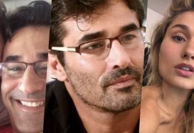 Luciano Szafir, pai de Sasha, está passando por uma situação complicada (Foto montagem: TV Foco)