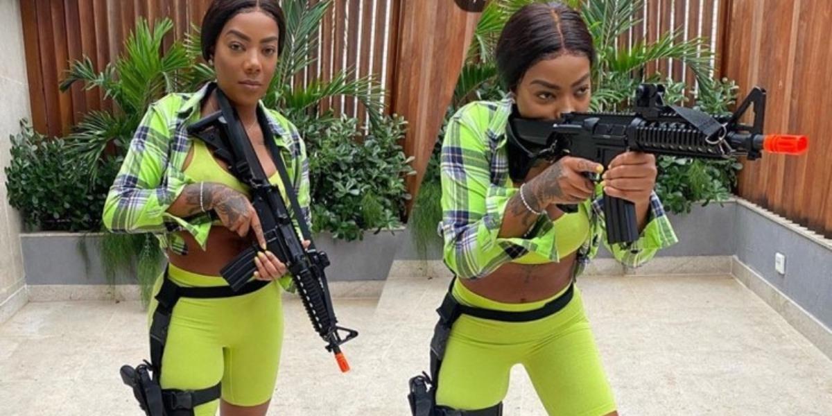Ludmilla se prepara para viver uma policial em série da Globo (Imagem: Instagram)