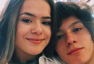 A apresentadora Maisa Silva com o namorado - Foto: Reprodução