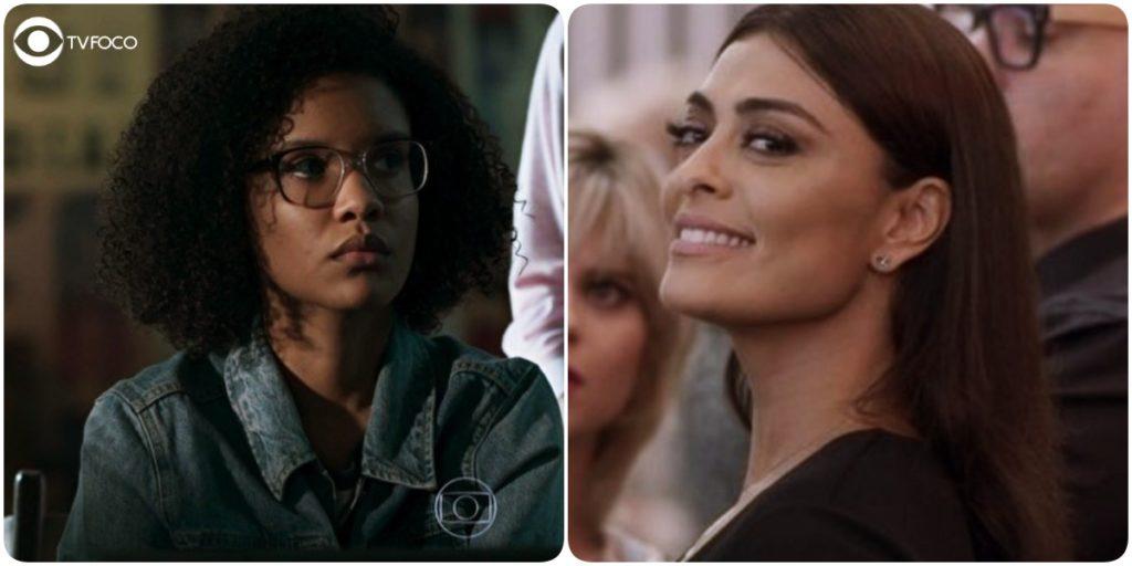 Ellen é a protagonista de Malhação Viva a Diferença e Carolina a antagonista de Totalmente Demais