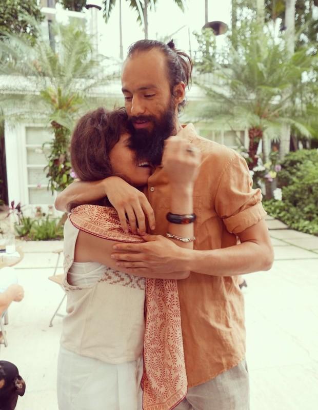A filha de Ana Maria Braga e o marido (Foto Quem / Acervo Pessoal)