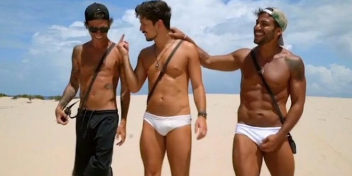 Igor, Rafa e Jarlles no De Férias com o Ex na MTV (Imagem: Instagram)